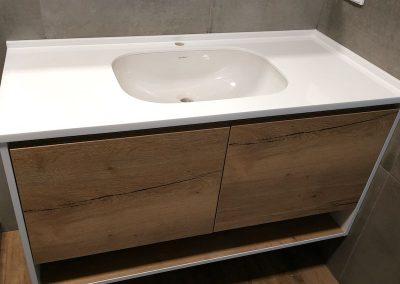 Стільниці для ванної акрил
